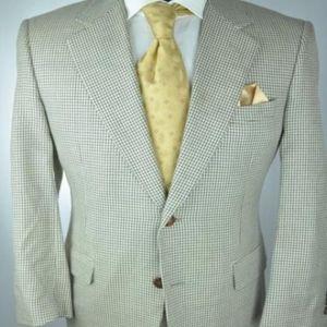 Canali Suits & Blazers - CANALI Italian Tan & Gray 2Btn Sport Jacket